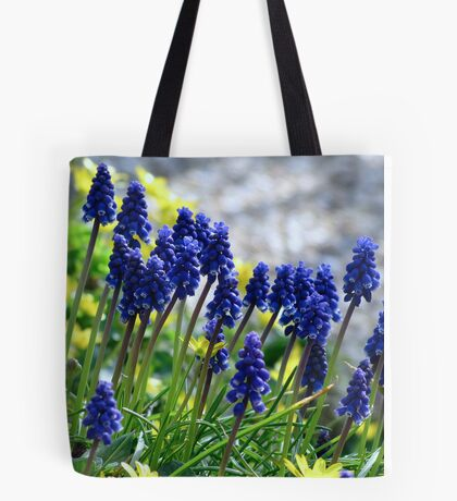 Muscari - Grape Hyacinth Tote Bag