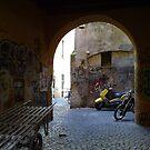 Graffiti at TRASTEVERE - ROME by Daniela Cifarelli