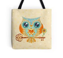 Owl's Summer Love Letters Tote Bag