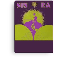 Sun Ra T-Shirt Canvas Print