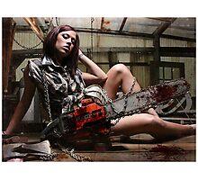 Chainsaw Massacre Photographic Print
