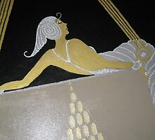 TRIBUTE TO ERTE CLOSE UP by marlaakajake