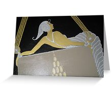 TRIBUTE TO ERTE CLOSE UP Greeting Card