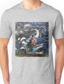 wall graffiti Unisex T-Shirt