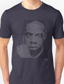 Jay-Z Lyric Portrait Unisex T-Shirt