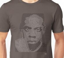 Jay-Z Lyric Portrait Unisex T-Shirt
