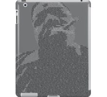 Biggie Lyric Portrait iPad Case/Skin