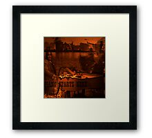 Piano Starts Here Framed Print
