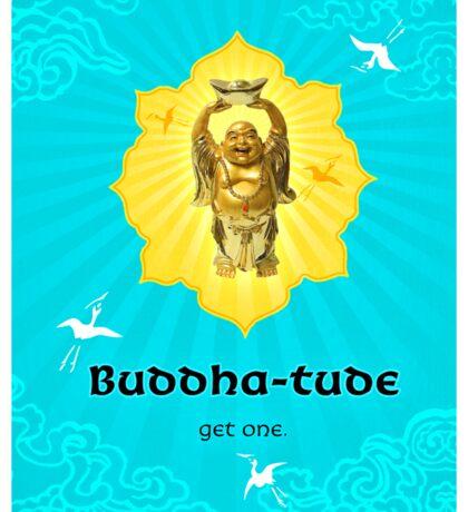 Buddha-tude Sticker