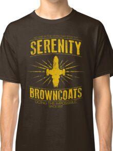 Serenity Browncoats Classic T-Shirt