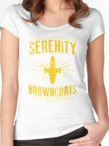 Serenity Browncoats Women's Fitted Scoop T-Shirt