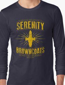 Serenity Browncoats Long Sleeve T-Shirt
