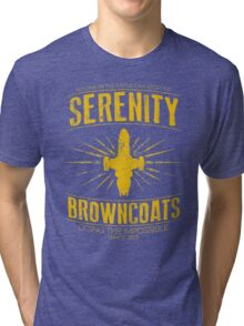 Serenity Browncoats Tri-blend T-Shirt