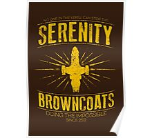 Serenity Browncoats Poster