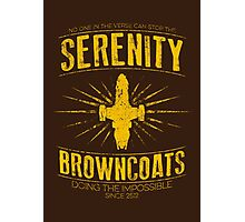 Serenity Browncoats Photographic Print