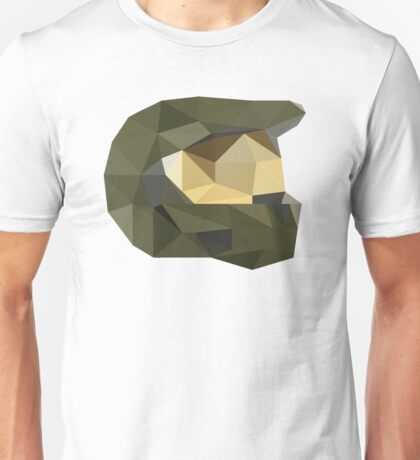 Low Poly - Master Chief Unisex T-Shirt