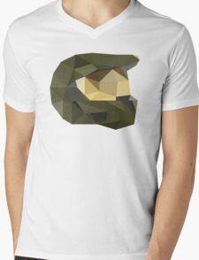 Low Poly - Master Chief Mens V-Neck T-Shirt
