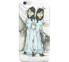 Sideshow Twins iPhone Case/Skin