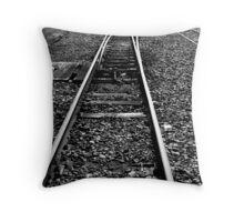Narrow Guage Throw Pillow