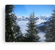 Winter in Austria Metal Print