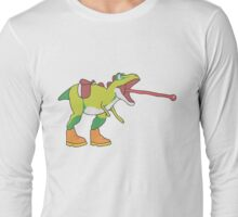 Yoshisaurus Rex Long Sleeve T-Shirt