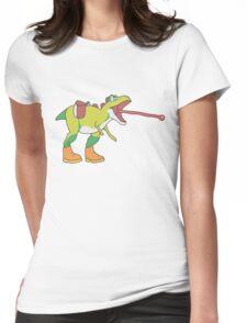 Yoshisaurus Rex Womens Fitted T-Shirt