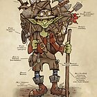 Always be prepared - The Goblin Explorer by Jessica Feinberg