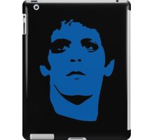 Lou Reed Blue Mask T Shirt iPad Case/Skin