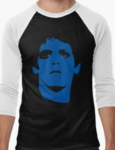 Lou Reed Blue Mask T Shirt Men's Baseball ¾ T-Shirt