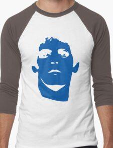 Lou Reed Blue Mask T Shirt Men's Baseball ¾ T-Shirt