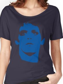 Lou Reed Blue Mask T Shirt Women's Relaxed Fit T-Shirt