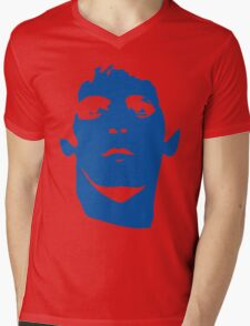 Lou Reed Blue Mask T Shirt Mens V-Neck T-Shirt