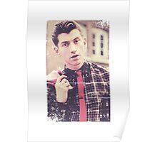 Alex Turner tie Poster