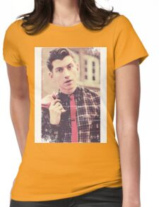 Alex Turner tie Womens Fitted T-Shirt