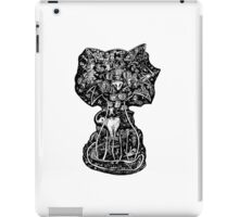 Mind Wandering Cat by Mike Hobson iPad Case/Skin