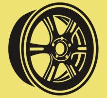Wheel rim Kids Tee
