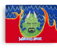 Waltered Beast Canvas Print