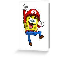 Spongebob Squarepants Greeting Card