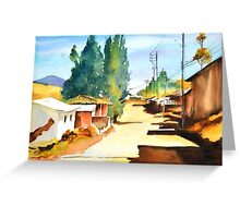 Rustic Charm Greeting Card