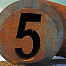 the number five by Lynne Prestebak