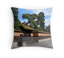 Kurashiki Greens Throw Pillow