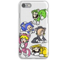 Super Mario 3D World Cat iPhone Case iPhone Case/Skin