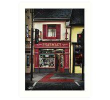 34 Main Street, Killarney. Ireland Art Print