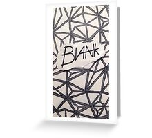 BLANK- OG Greeting Card