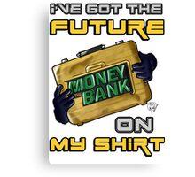 I've got the future on my shirt ! Canvas Print