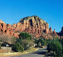 Beautiful Sedona and it's Red Rocks. by vette
