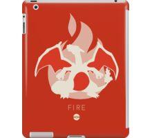 Pokemon Type - Fire iPad Case/Skin