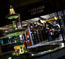Rundle Mall Fountain by Ryan Carter