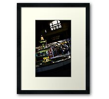 Rundle Mall Fountain Framed Print