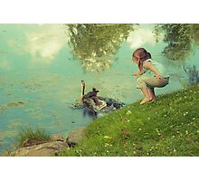 the end of the story Photographic Print